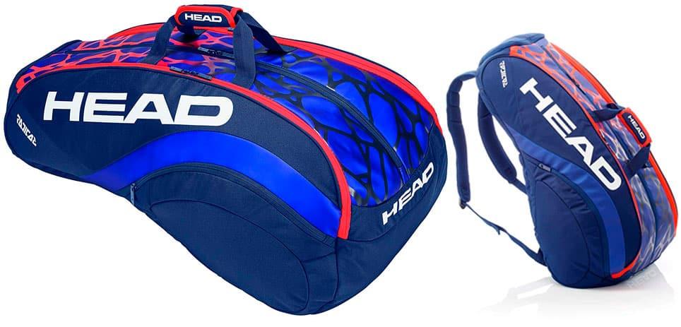 Bolsa para raquetas de tenis