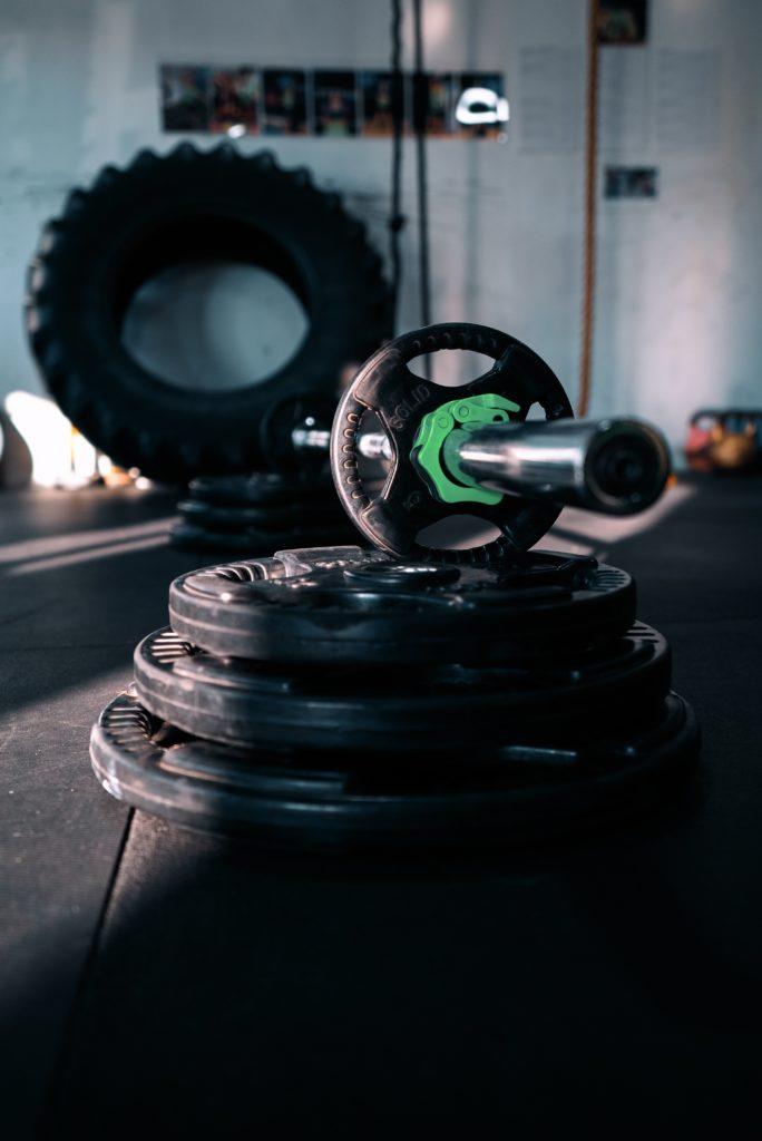 discos y pesas