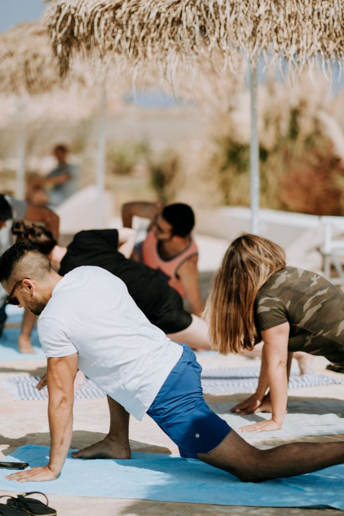 toallas para yoga
