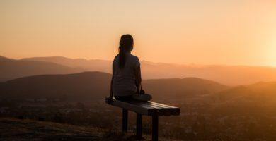 banco de meditación